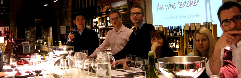 Wine tasting course in London